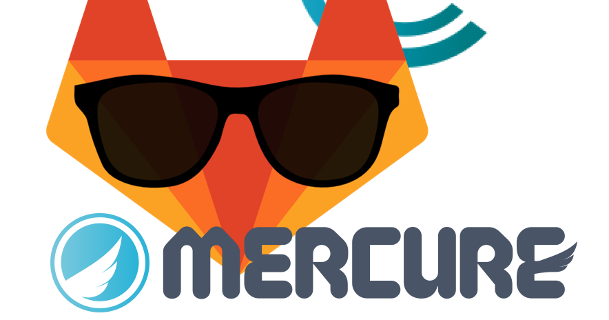 gitlab-ci, codeception and mercure